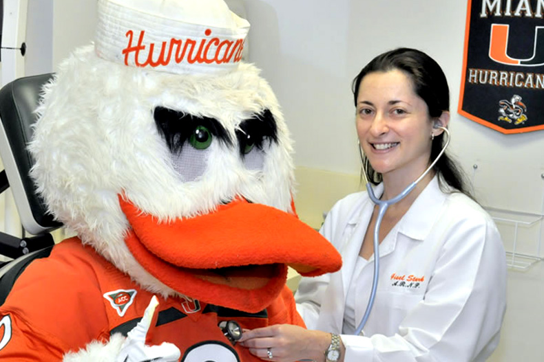 health services are available to all students at the University of Miami
